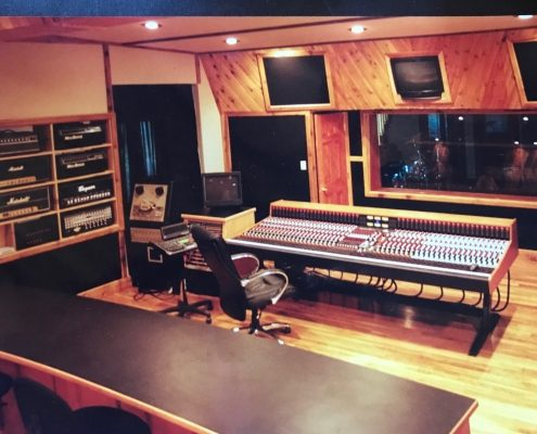 Control Room and Recording Studio