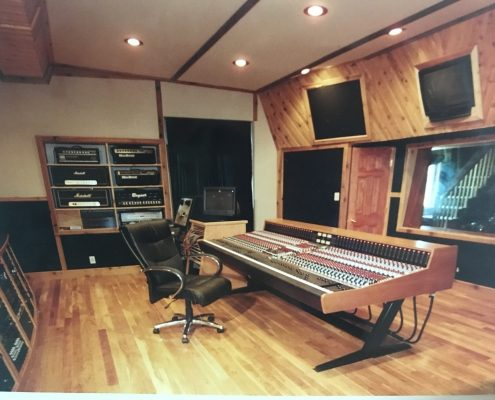 Control Room Mixing Station