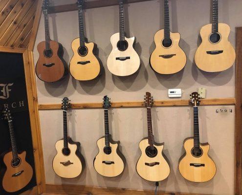 Guitar Gallery Wall