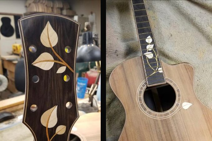 Custom Built Guitar